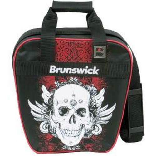Brunswick Dyno Single Ball Grunge Skull Bowling Bags FREE