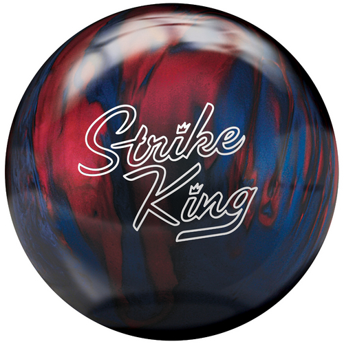 Brunswick Strike King Blue/Red Pearl Bowling Balls FREE