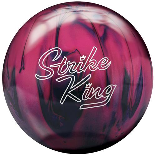 Brunswick Strike King Purple/Pink Pearl Bowling Balls FREE