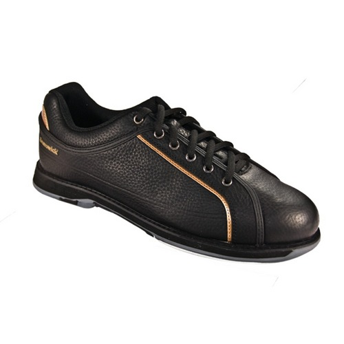 Brunswick Men's Charger Black/Gold 7 7.5 14 Only Bowling