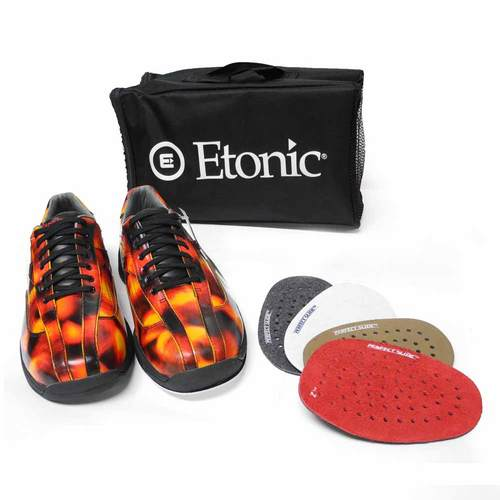 Etonic Red Flame Bowling Shoes